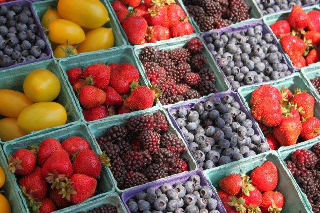 farmers market - fruit